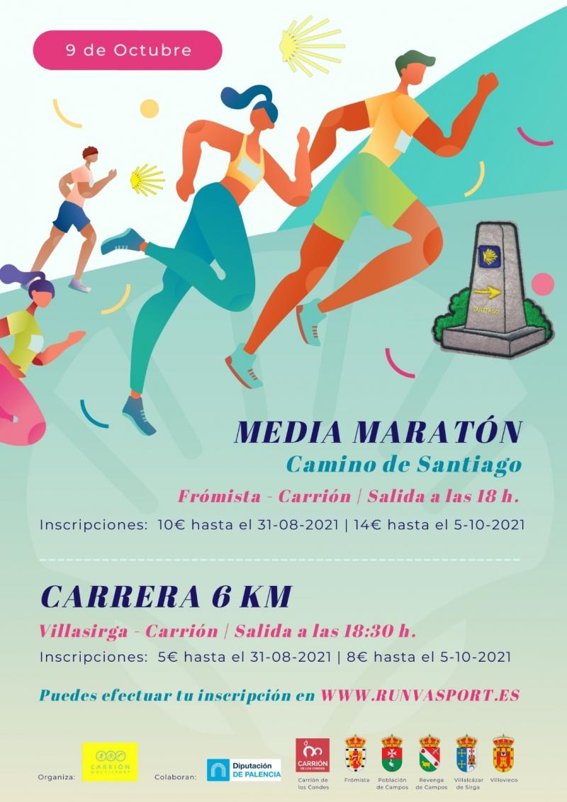 MEDIA MARATÓN CAMINO DE SANTIAGO - Inscríbete