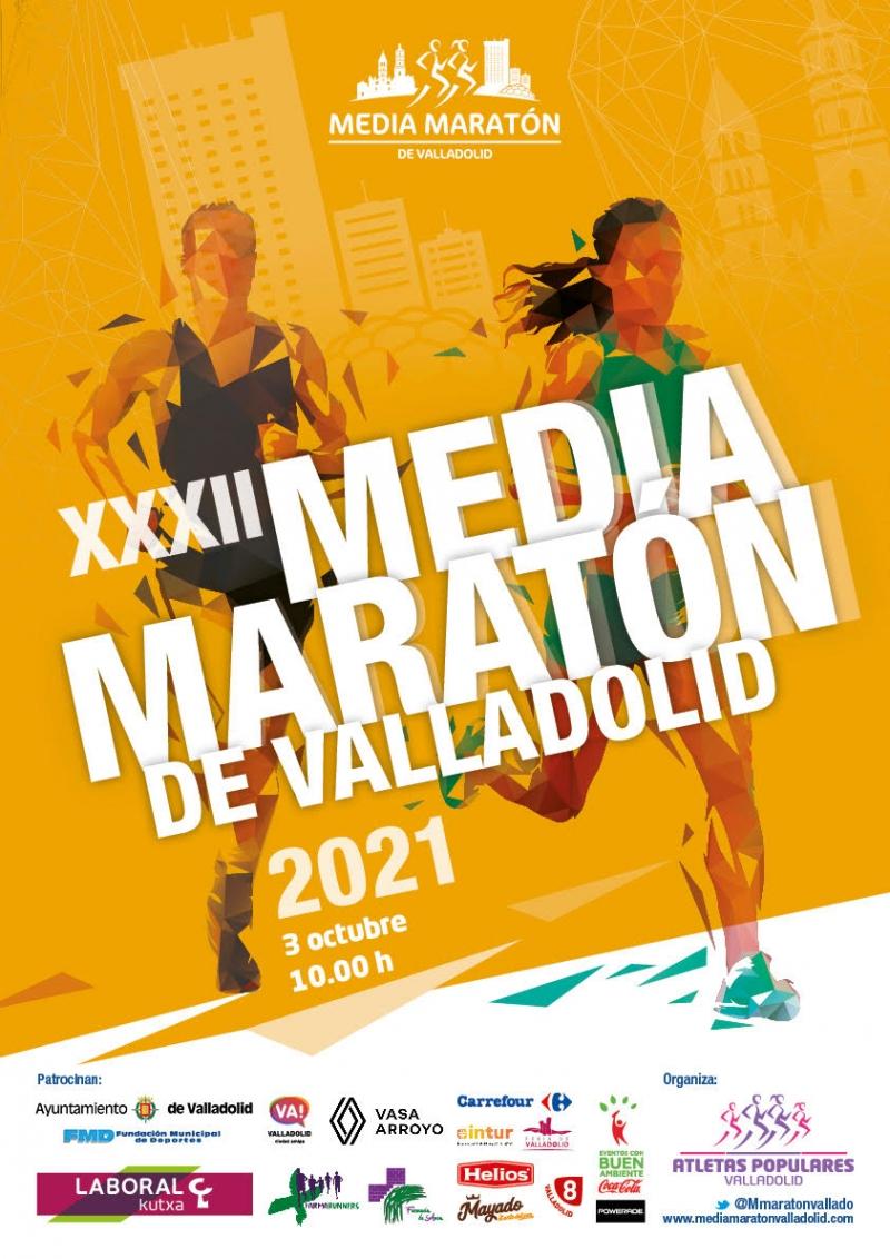 XXXII MEDIA MARATÓN CIUDAD DE VALLADOLID - Inscríbete