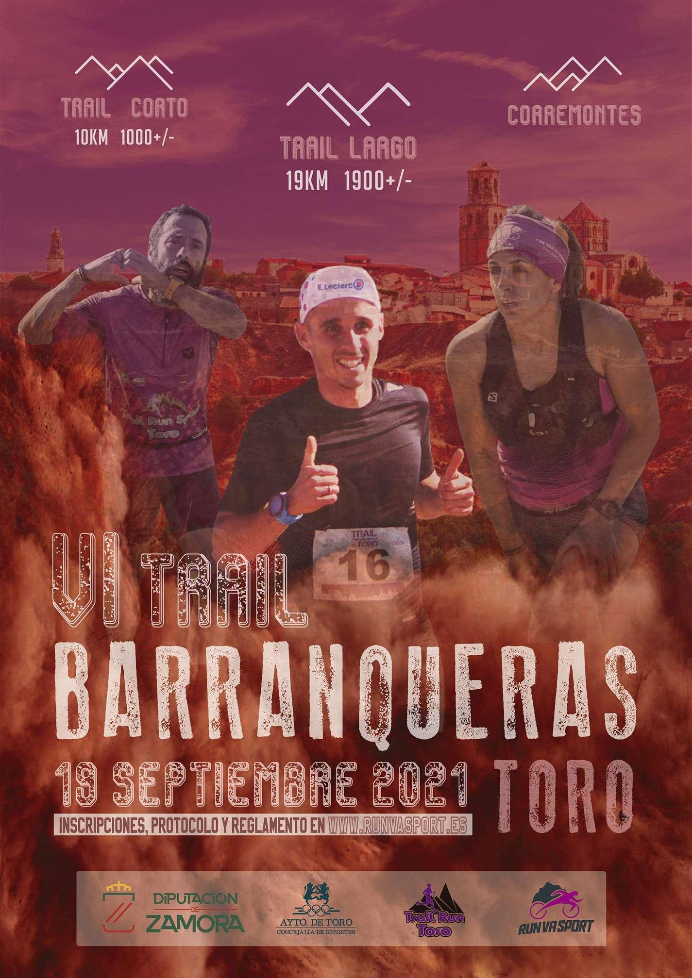 VI TRAIL BARRANQUERAS - Inscríbete