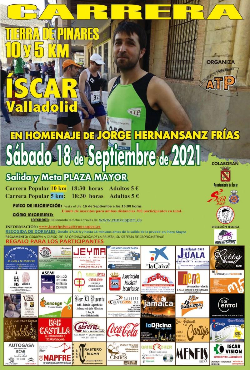 CARRERA 10 Y 5 KM ISCAR   - Inscríbete
